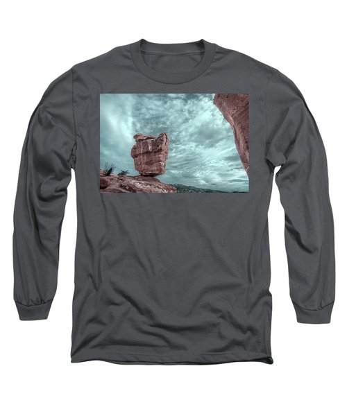 Disparate Colors  Long Sleeve T-Shirt