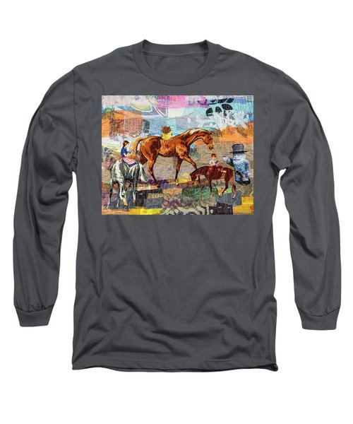 Distracted Riding Long Sleeve T-Shirt