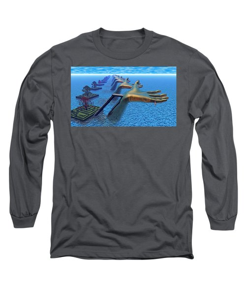 Dive Into The Imagination Long Sleeve T-Shirt