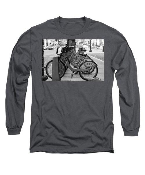 Divvy Bikes Long Sleeve T-Shirt