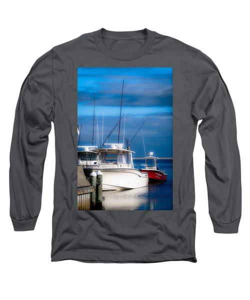 Docked And Quiet Long Sleeve T-Shirt