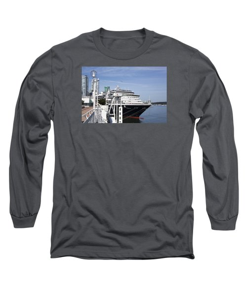 Docked In Vancouver Long Sleeve T-Shirt