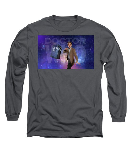 Doctor Who Long Sleeve T-Shirt by Pat Cook