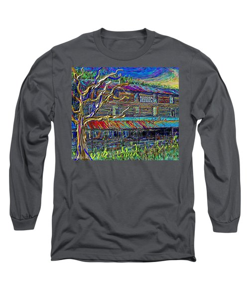 Dodds Creek Mill, ,floyd Virginia Long Sleeve T-Shirt