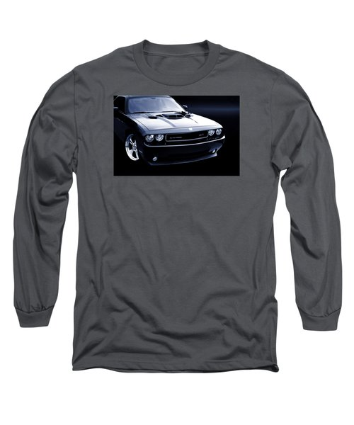 Dodge Challenger Blackbird Sr-71 Long Sleeve T-Shirt