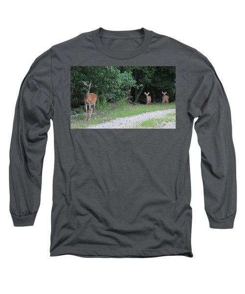 Doe With Twins Long Sleeve T-Shirt