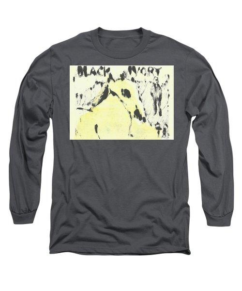 Dog At The Beach - Black Ivory 1 Long Sleeve T-Shirt