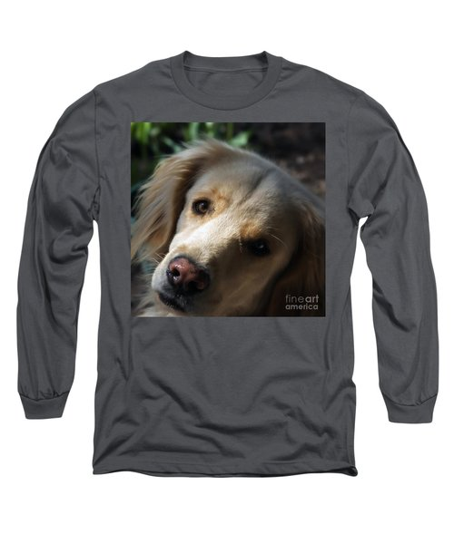 Dog Eyes Long Sleeve T-Shirt