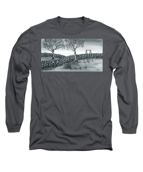 Dog House Long Sleeve T-Shirt by Kenneth Clarke
