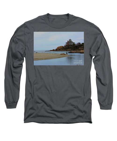 Dogs And Surf Long Sleeve T-Shirt