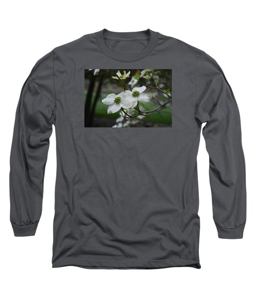Long Sleeve T-Shirt featuring the photograph Dogwood by Linda Geiger