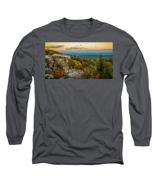Dolly Sods Autumn Sundown Long Sleeve T-Shirt