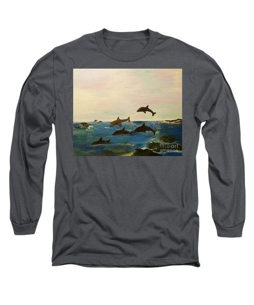 Dolphin Bay Long Sleeve T-Shirt