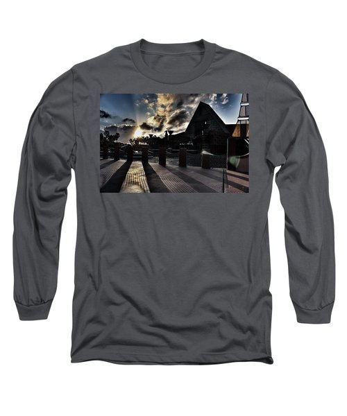 Dolphin Hotel Sunset Long Sleeve T-Shirt