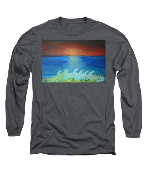 Dolphin Waves Long Sleeve T-Shirt