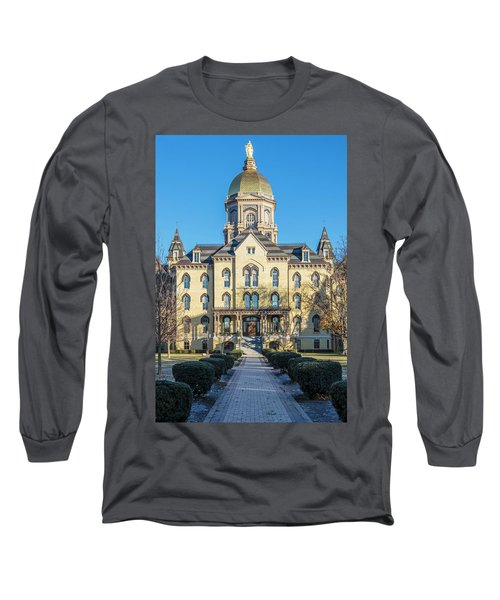 Dome At University Of Notre Dame  Long Sleeve T-Shirt