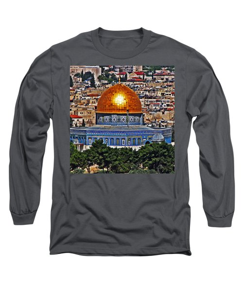 Dome Of The Rock Long Sleeve T-Shirt