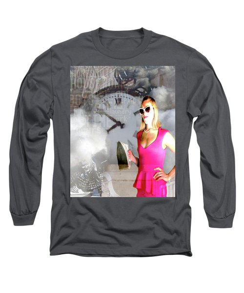 Domestic Considerations Drama Long Sleeve T-Shirt by Ann Tracy