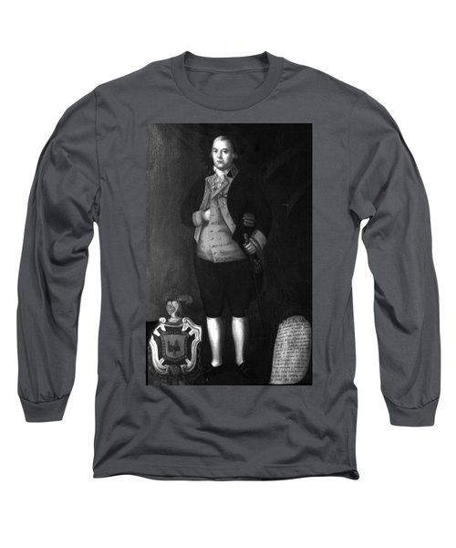 Don Andres Almonester Y Rojas Long Sleeve T-Shirt