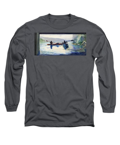 Donner Lake Kayaks Long Sleeve T-Shirt