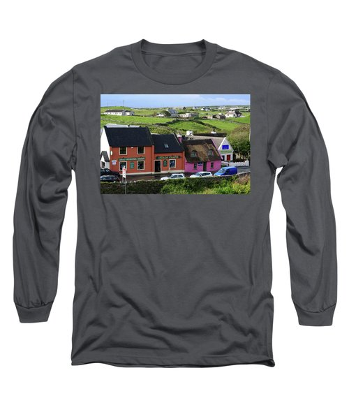 Doolin Village County Clare Long Sleeve T-Shirt