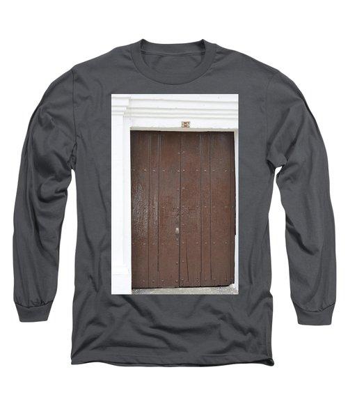 Door # 3  Long Sleeve T-Shirt