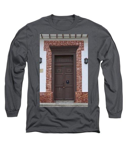 Door # 5  Long Sleeve T-Shirt