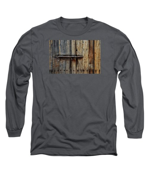 Door Lock Long Sleeve T-Shirt