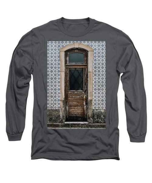Long Sleeve T-Shirt featuring the photograph Door No 151 by Marco Oliveira