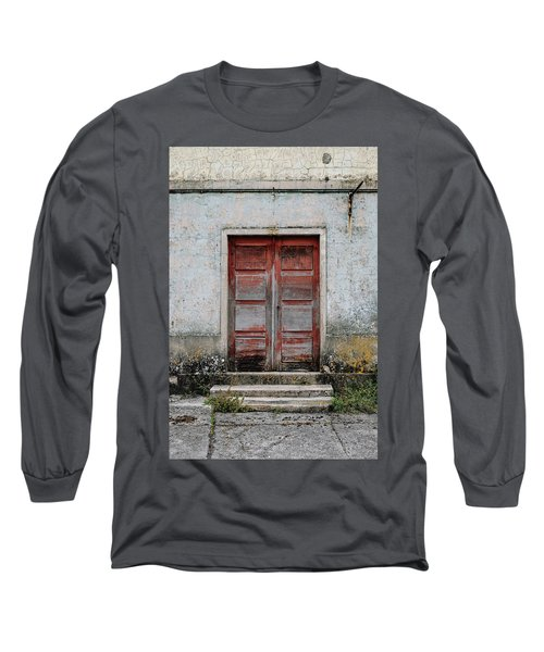 Long Sleeve T-Shirt featuring the photograph Door No 175 by Marco Oliveira