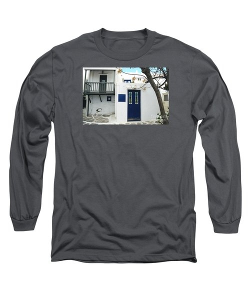 Long Sleeve T-Shirt featuring the photograph Doors by Haleh Mahbod