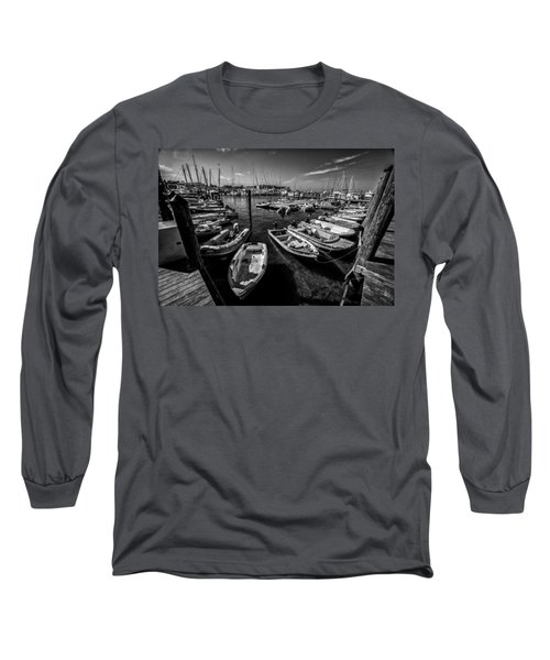 Dory Dock Long Sleeve T-Shirt by Kevin Cable