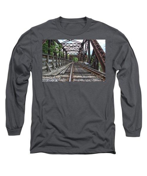 Double Truss Bridge #1679 On The Wmsr Long Sleeve T-Shirt