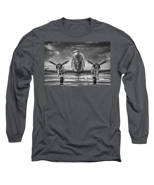 Douglas Dc3 Long Sleeve T-Shirt