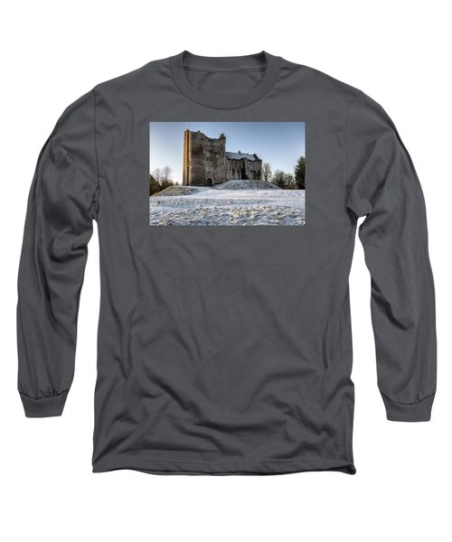 Doune Castle In Central Scotland Long Sleeve T-Shirt by Jeremy Lavender Photography