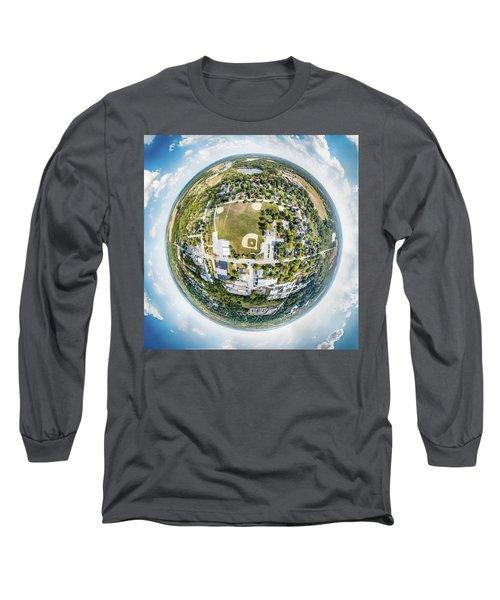 Long Sleeve T-Shirt featuring the photograph Dousman by Randy Scherkenbach