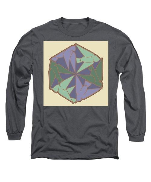 Doves Logo Color Long Sleeve T-Shirt