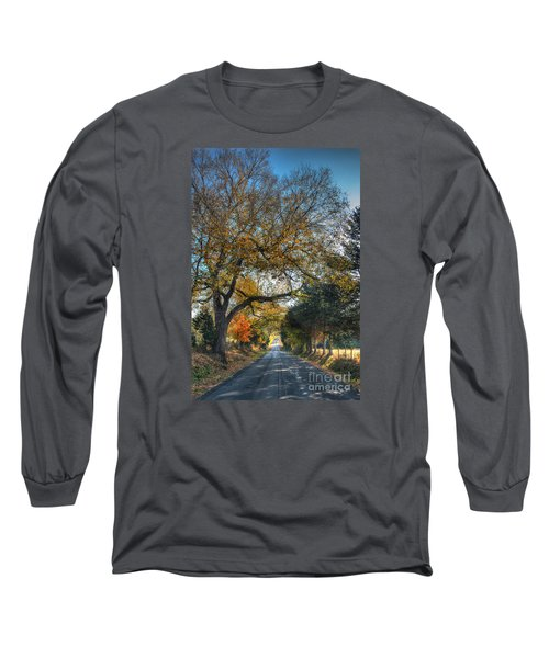 Down A Berger Lane Long Sleeve T-Shirt by William Fields