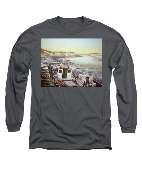 Down By The Docks Long Sleeve T-Shirt by Marty Garland
