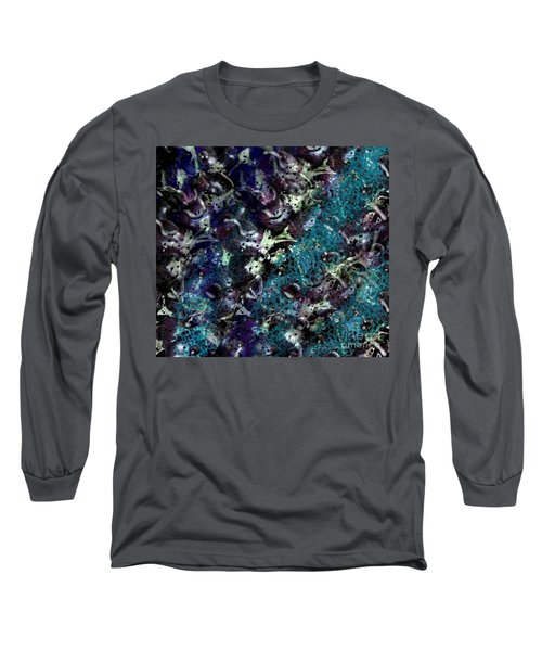Down The Rabbit Hole Long Sleeve T-Shirt by Kathie Chicoine