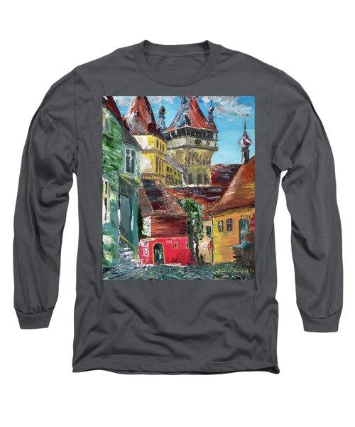 Down The Street Long Sleeve T-Shirt