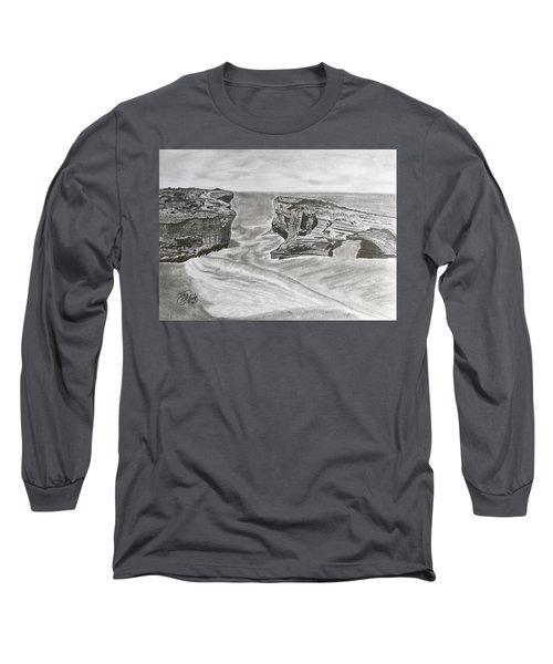 Down Under  Long Sleeve T-Shirt by Tony Clark