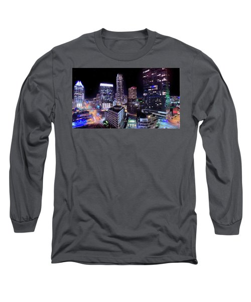 Downtown Atx Long Sleeve T-Shirt by Andrew Nourse