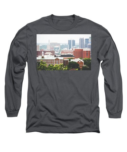 Long Sleeve T-Shirt featuring the photograph Downtown Birmingham - The Magic City by Shelby Young