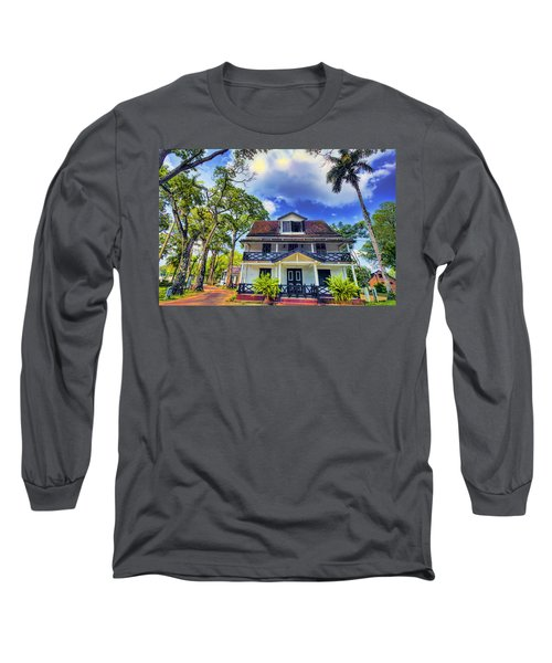 Downtown In The Tropics Long Sleeve T-Shirt