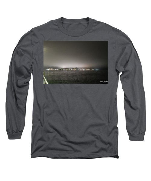 Downtown Oc Skyline Long Sleeve T-Shirt
