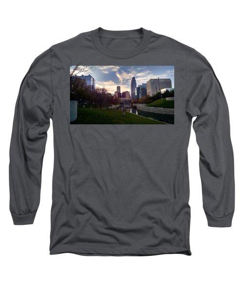 Downtown Omaha Long Sleeve T-Shirt