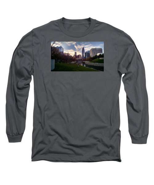 Downtown Omaha Long Sleeve T-Shirt