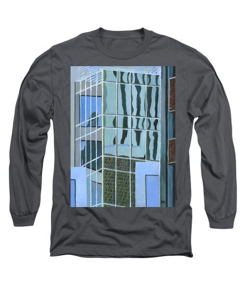 Downtown Reflections Long Sleeve T-Shirt by Alika Kumar