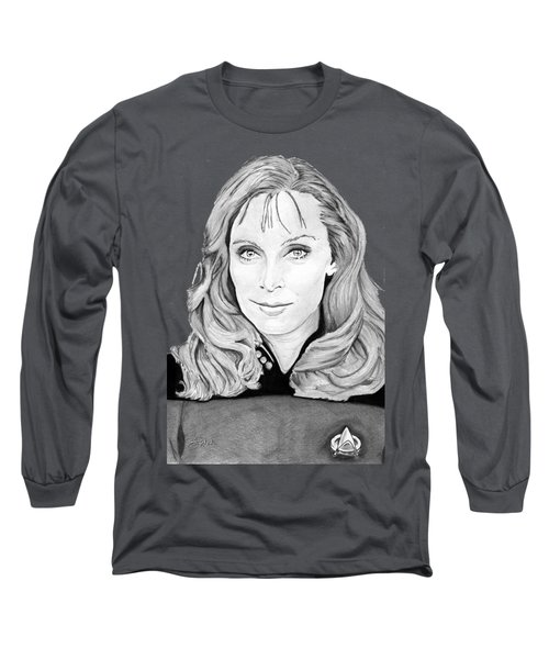 Dr. Beverly Crusher Long Sleeve T-Shirt